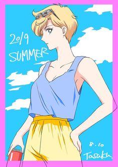 Watch Sailor Moon, Sailor Moon Fan Art, Sailor Moon Manga, Sailor Neptune, Sailor Saturn, Sailor Moon Crystal, Sailor Mars, Haruka And Michiru, Fanart