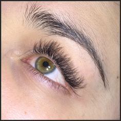 2D Russian Volume Eyelash Extensions this evening ready for my clients trip to Thailand