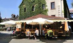 Das Hofcafé des Dottenfelderhofs in Bad Vilbel bietet viele Leckereien in Bio- und Demeter-Qualität. #cafe #badvilbel