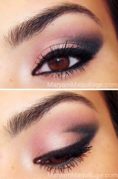 sultry smoky eye for your valentine!