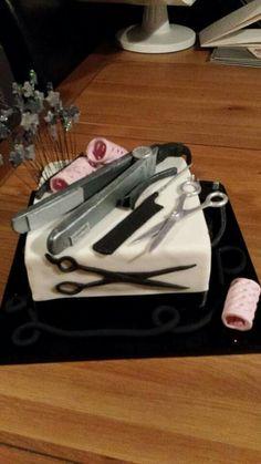 Hairdresser's cake