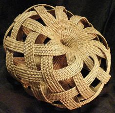 Donya Stockton | Contemporary Basket | pinned at www.africacrafttrust.org.za