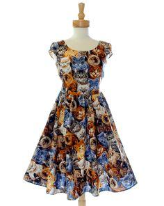 Kitty Kats Dress @ Toofastonline