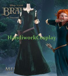Princess Merida. $92. Includes: Dress, Blouse, Belt, Quiver.