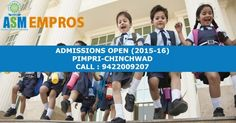#Admissions for EMPROS International #school Pimpri-Chinchwad branch now open!   Pre-primary | Day Care | Std. 1-4   Enrol you kids today!   #Register now: http://www.asmgroup.edu.in/empros/   #Pune #chinchwad #pimpri #EMPROSInternationalSchool