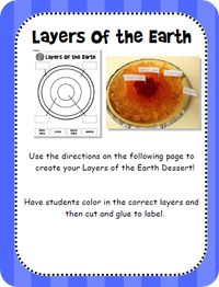 """Layers of the earth"" pie (Week 13)"