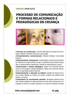 ufcd 3272. Processo de comunicação e formas relacionais da criança