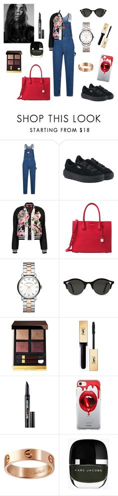 """""""Untitled #434"""" by gloriatovizi on Polyvore featuring Tommy Hilfiger, Puma, Dolce&Gabbana, Michael Kors, Marc by Marc Jacobs, Tom Ford, Yves Saint Laurent, Fifth & Ninth and Cartier"""