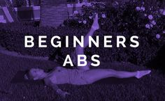 Beginner ABS Workout To Jump Start Your Active Lifestyle! Gym Video, Video Library, Love Handles, Cardio, Core, Health Fitness, Abs, Exercise, Motivation