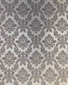 "Renaissance 33' x 20"" Damask Wallpaper Roll"