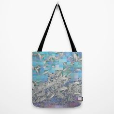 Variato blues Tote Bag by Mirimo | Society6