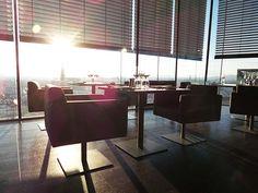 LOFT bar Vienna Sofitel. Skybar at the 18th floor!  More hotspots in the Vienna Little Black Book.