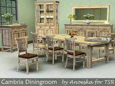 AnoeskaB's Cambria Diningroom