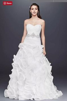 David s Bridal Galina Signature wedding dress size Style Galina Signature 1fa1acbd6fbe