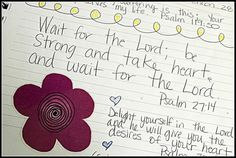 Faith Notebook - Pages of Faith -- I stared a journal to help me become closer to God. I bought a notebook and began to write my favorite bible verses, thoughts on God, prayers, and simply what was on my heart. I  decorated it with colorful stickers and colorful doodles. I call it my Faith Notebook. I love it. As I thumb through the pages, I realize it has changed my life. It uplifts my spirit. I can vividly see prayers that have been answered and how my faith has grown.