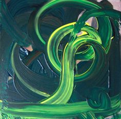green brush stroke album cover - Google Search