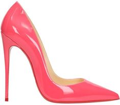 ce8ce9f6342 CHRISTIAN LOUBOUTIN So Kate 120 Pink Patent Leather Pumps