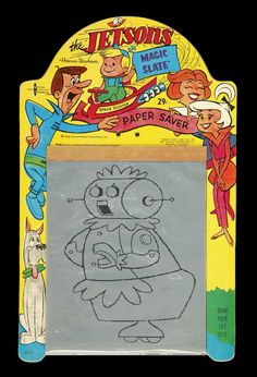 The Jetsons Magic Slate // Not sure I ever had a Jetson's one of these, but definitely had these.