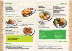 Cardápio Páginas 2 & 3