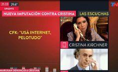 La señal del Grupo Clarín presentó el último viernes una reconstrucción del diálogo entre la ex presidenta y el ex jefe de la AFI con varias inexactitudes - 23.01.2017