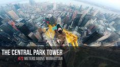 Skyscrapers of New-York / Freeclimbing