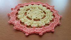Crocheted motif no 50 Crochet Motif, Crochet Earrings, Youtube, Buen Dia, Bedspreads, Tutorial Crochet, Trapper Keeper, Tejidos, Flower Crochet