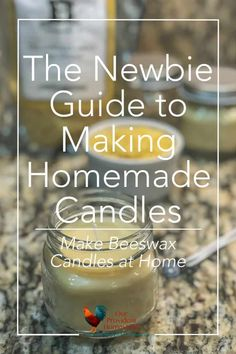 The Newbie Guide to Making Homemade Candles – Soy Candles İdeas Natural Candles, Oil Candles, Beeswax Candles, Soy Candle Making, Candle Making Supplies, Making Candles, Diy Marble, Homemade Soy Candles, Candle Making Business