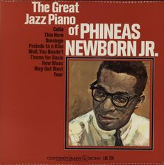 Phineas Newborn Jr. The Great Jazz Piano Of Phineas Newborn Jr. 1963 UK vinyl LP LAC575: PHINEAS NEWBORN JR. The Great Jazz Piano Of…