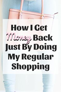 Check out how I get paid to do my regular shopping! Any little bit of cash back helps, and you were going to purchase the items anyway so why not put money back in your wallet?!  #cashback #savemoney #getpaidtoshop #affl Save Money On Groceries, Ways To Save Money, Money Tips, Money Saving Tips, Saving Ideas, I Get Money, Make Money Blogging, Earn Cash Online, Make Money Online