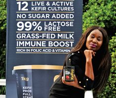 Health success story: Busi Gumede and her probiotic-foods revolution. Busi Gumede was heading up a major energy-solutions business when her health intervened, and led her to spearhead a South African probiotic-foods revolution Kefir Culture, Probiotic Foods, Success Story, Folic Acid, Good Housekeeping, Lactose Free, Revolution, Budgeting, Vitamins