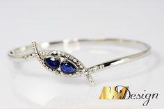 Na zamówienie - BM Design Sapphire, Rings, Jewelry, Design, Jewlery, Jewerly, Ring, Schmuck