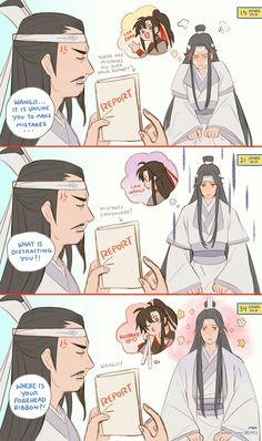 "moobiess: ""What is distracting you, Hanguang-Jun? Me Anime, Anime Chibi, Anime Love, Anime Guys, Chinese Cartoon, The Grandmaster, Shounen Ai, Cute Gay, Fujoshi"