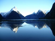 Day Break, Milford Sound.
