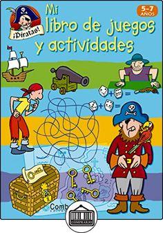 ¡Piratas! (Mi libro de juegos y actividades) de  ✿ Libros infantiles y juveniles - (De 3 a 6 años) ✿