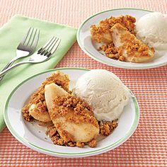 Honey-Baked Pears | MyRecipes.com