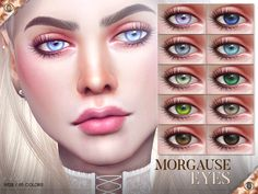 Morgause Eyes for The Sims 4 - Sims 4 Mod & Pack Sims 4 Cc Eyes, Sims 4 Cc Skin, Sims Cc, Sims 4 Nails, Los Sims 4 Mods, Free Sims 4, Cc Fashion, Sims 4 Cc Kids Clothing, Sims 4 Cc Makeup