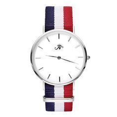 Royal York - Silver Timepiece with NATO Strap – Joseph Nogucci