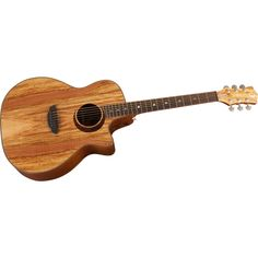 Luna Guitars Woodland Series Spalted Maple Acoustic-Electric Guitar AHHH I LOVE Juna Guitars!