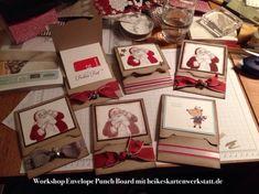Workshop-Video Envelope Punch Board