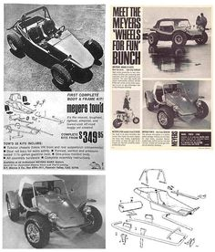 VW Tow'd Dune Buggy Ad.