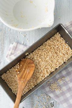 Making Quinoa Marinade - Recipe (sugar reduced) Making Quinoa, Butcher Block Cutting Board, Low Carb, Bread, Vegan, Recipes, Food, Quinoa Recipe