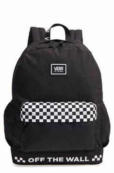 Vans Sporty Realm Plus Backpack - Классные штучки - bags Cute Backpacks For School, Cute Mini Backpacks, Teen Backpacks, Leather Backpacks, Leather Bags, Vans School Bags, Vans Bags, Mochila Adidas, Vans Backpack