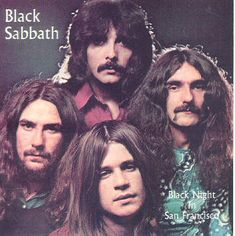 BLACK SABBATH - Black Night In San Francisco