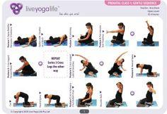 Ejercicio En El Embarazo Yoga