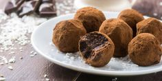 No-Bake Chocolate Almond Protein Truffles  Get rid of the whey and substitute with an organic rice and organic pea protein powder. I would recommend Ora's Organic Superfood Protein which is vegan.