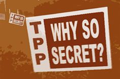 Please sign.. Don't fast track the TPP