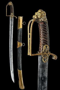 An interesting sabre,France 18th century.