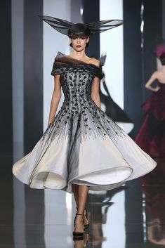 Ralph & Russo show as part of Paris Fashion Week - Haute Couture Fall/Winter 2014-2015 at Pavillon Cambon Capucines on July 10, 2014 in Paris, France.