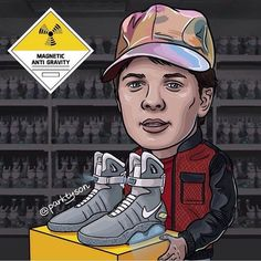 #sneakerart #artist @parktyson