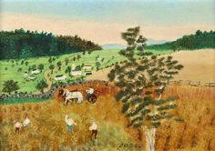 Grandma Moses Famous Paintings | Email This BlogThis! Share to Twitter Share to Facebook Share to ...